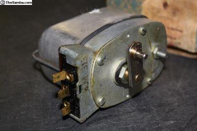 1961 thru 1964 NOS wiper motor 6V