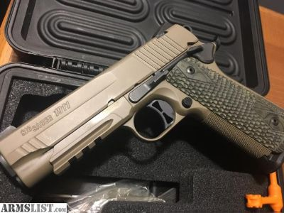 For Sale/Trade: Sig Scorpion 1911 Carry/factory upgrades and 4 mags