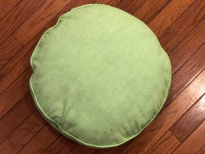 Vintage Throw Pillow/ Seat Cushion