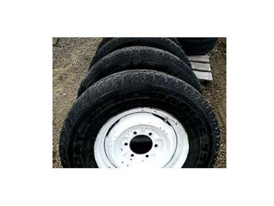 FOUR SUMMER TIRES 235/75/15 6ON5.5 15 BY6 ...