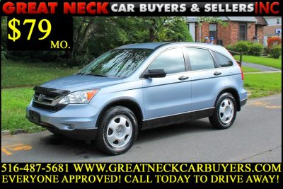 2011 Honda CR-V LX (Glacier Blue Metallic)