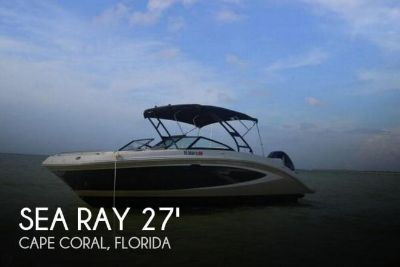 2015 Sea Ray SUNDECK 270 OB