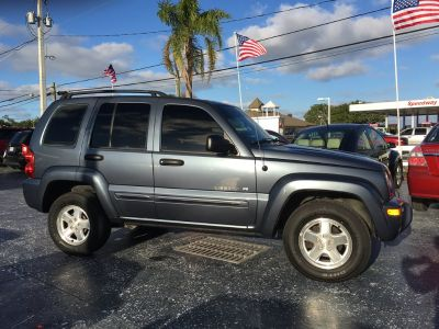 2002 Jeep Liberty Limited (Blue)