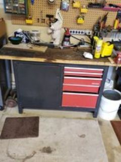 Craftsman Workbench with storage