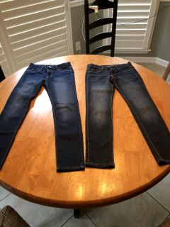 2 Pairs of Jorache Jeans. Size 14 Super Skinny. New & Worn Once! $10 for BOTH! XPosted. Meet or PPU