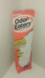 Odor-Eaters Ultra-Comfort Odor-Destroying Long-Lasting Protection Insoles