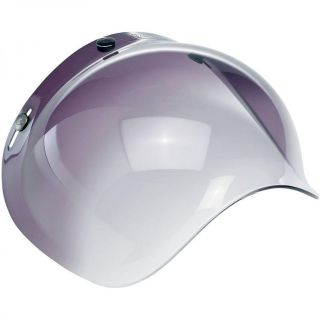 Sell Biltwell Bubble Shield Gradient Smoke Fade Vintage Style 3/4 Helmet Visor Cafe motorcycle in Darby, Pennsylvania, US, for US $24.95
