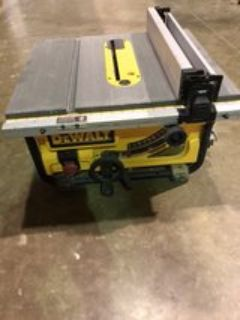 DeWalt 10 Table Saw with Portable Folding Stand