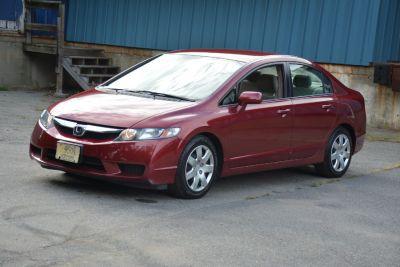 2009 Honda Civic LX (Tango Red Pearl)