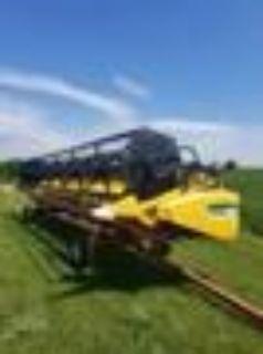 2009 New Holland 74C Header