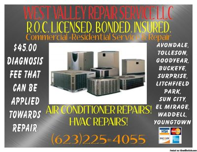 AIR CONDITIONER & HVAC COOLING REPAIR