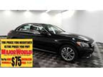 $25500.00 2016 MERCEDES-BENZ C-Class with 25764 miles!