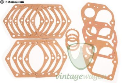Split Oval Transmission Gasket Set