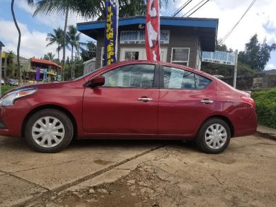 2018 Nissan VERSA SEDAN S Plus CVT (MAROON)