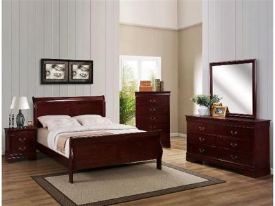 $580, Brand New 5pc Louis Phillips Queen Bedroom Set