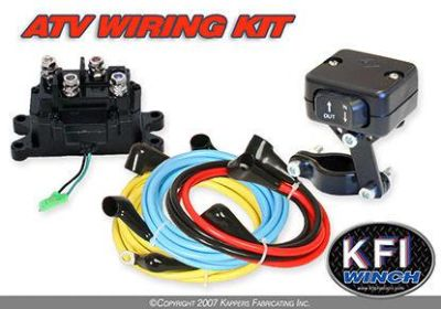 Purchase KFI Winch Universal ATV Wiring Kit 12V with contactor and switch motorcycle in Honey Brook, Pennsylvania, US, for US $89.95