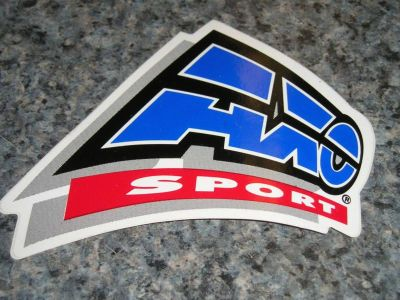 Purchase AXO Sport- vintage decal -blue/red- new. motorcycle in South Hadley, Massachusetts, US, for US $5.00