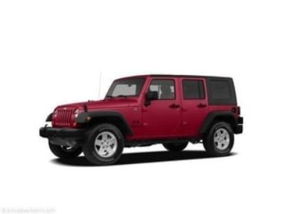 2007 Jeep Wrangler Unlimited Sahara (red)