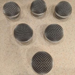 LOT OF 6 BRAND NEW MICROPHONE COVERS!