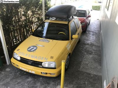 1998 Ginster yellow vr6 5-speed