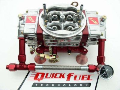 Purchase QUICK FUEL Q-950 TECHNOLOGY 950 CFM DRAG RACE MECH GAS WITH #8 FUEL LINE motorcycle in Lakeville, Minnesota, United States, for US $849.99