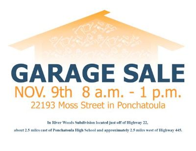 LARGE 2 family garage sale This Saturday (Ponchatoula)