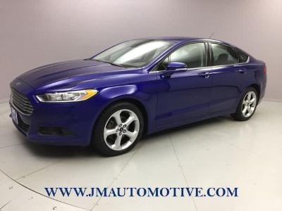 2016 Ford Fusion 4dr Sdn SE AWD (Deep Impact Blue)