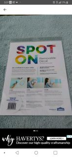 NIP 3 Spot On removable decal (package of 3)