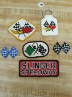 Rare patches and 60's Clay cams key FOB from an old racer