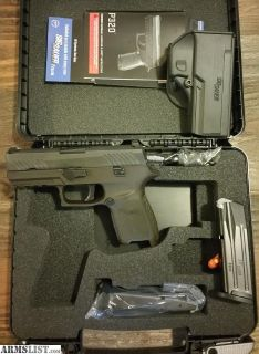 For Trade: New Sig Sauer p320c two tone night sights