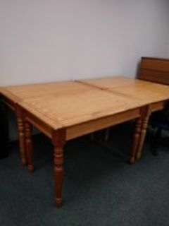 kitchen or dining wood table