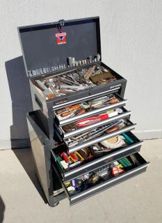 Craftsman Toolbox and Rolling Chest FULL of Tools!