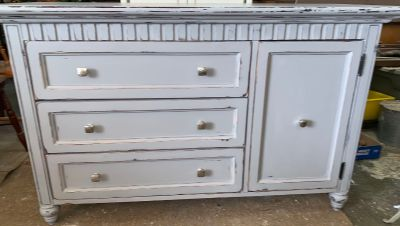 Gorgeous dresser/changing table/media cabinet