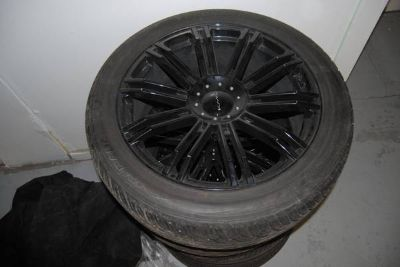 Like New 22 Rims and Tires