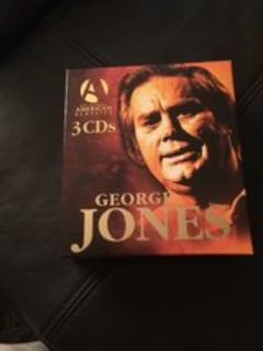 3 CD set George Jones