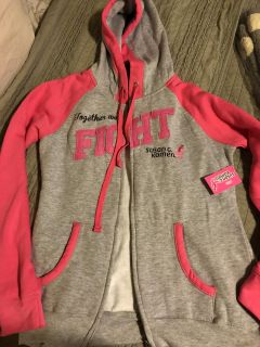 Women s Small Breat Cancer Awareness Jacket-NWT