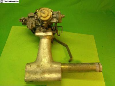 Weber Progressive Carburator