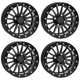 Sell 4 ATV/UTV Wheels Set 14in ITP SD Dual Beadlock Matte Black 4/156 4+3 550 motorcycle in West Monroe, Louisiana, United States, for US $656.49