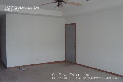Apartment Rental - 107 Golfview Dr.