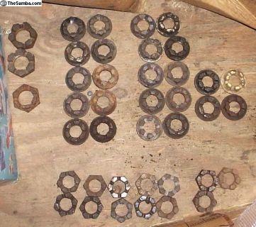 Rear Axle Nuts