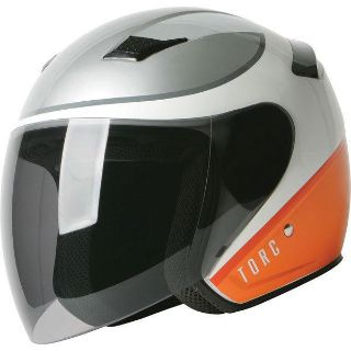 Buy White L Torc Mode T-56 Airstream Open Face Helmet motorcycle in San Bernardino, California, US, for US $89.99