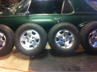 Stock chevy rims and tires 265 70 r17