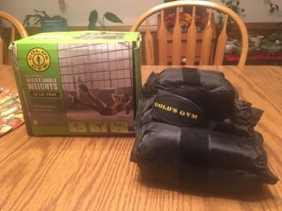 Gold s Gym Ankle / Wrist Weights