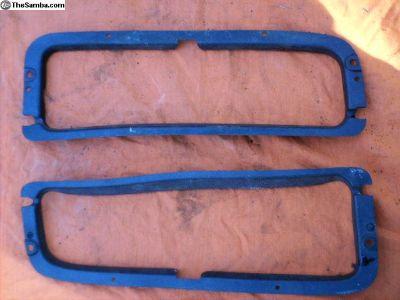 Bay Front Door Vent Trim Pieces Set