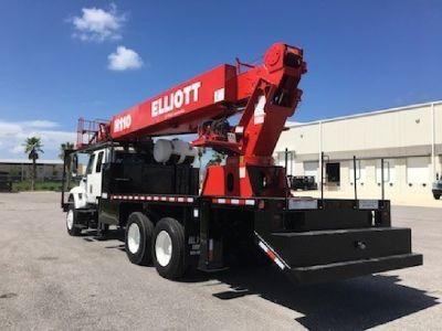6x4 Elliott H110R Hi-Reach Sign Crane Truck For Sale