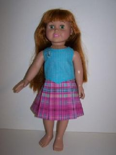 Doll Skirt & Top for 18 inch doll such as American Girl dolls