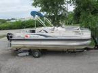 2009 Sun Tracker FISHIN' BARGE 21 Signature Series
