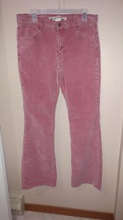 Size 12 dusty rose coloured Gap cords