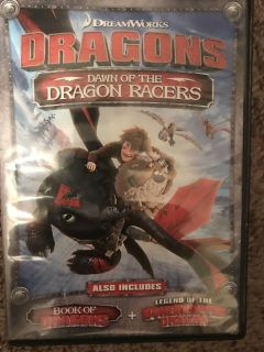 Dawn of the Dragon Racers DVD