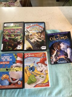 Different dvds
